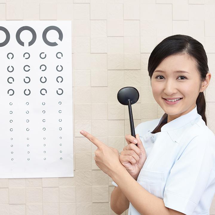 眼科での看護師の仕事は?